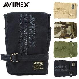 AVIREX EAGLE ショルダーバッグ AVX341L ショルダーバッグ カラビナ アヴィレックス イーグル バイク ミリタリー おすすめ 人気