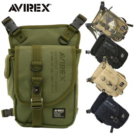 バイク ショルダーバッグ 鞄 AVIREX EAGLE 2wayショルダーレッグバッグ AVX348L レッグポーチ ショルダーバッグ アヴィレックス イーグル バイク ミリタリー おすすめ 人気