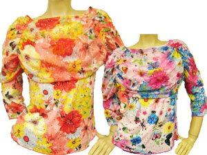 コーラス 衣裳 ブラウス 社交ダンス トップス レディース ダンスウェア 衣装 Mサイズから Lサイズ 2色