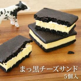まっ黒チーズサンド5個入プチギフト プレゼント 誕生日 バースデー