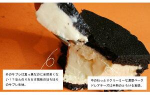 ★Sサイズ★まっ黒チーズケーキ