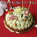 *クリスマス* 送料無料 ピスタチオフレーズ(おのし・包装・ラッピング不可) クリスマス ケーキ ツリー ケーキ …