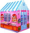 キッズテント(ケーキ&ドーナツショップ)プリンセスキャッスル♪♪屋内/屋外プレイハウス ケーキ ドーナツ お店屋さん…