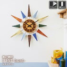 壁掛け時計L'EST-bunt-[レストヴント]CL-8408
