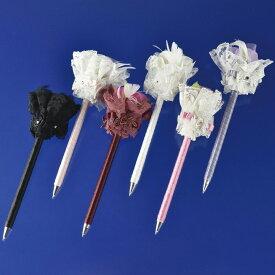 ボールペン 結婚式 プレゼント ギフト お花付きボールペン