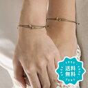 ブレスレット ブランド おしゃれ つけっぱなし ペア 日本製 2点セット ゴールド シルバー 15色 結婚記念日 特集1 la s…