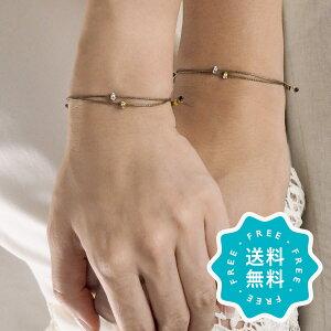 結婚記念日 プレゼント 妻 夫 両親 ブレスレット ブランド おしゃれ つけっぱなし ペア 日本製 2点セット ゴールド シルバー 15色特集1 la siesta