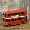 复古伦敦巴士 (伦敦巴士) 大汽车微型车库集合图美国商品美国小玩意复古
