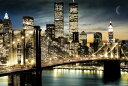 アメリカン アートポスター ニューヨーク マンハッタン ライト(4059)アメリカン雑貨 アメリカ雑貨 ポスター