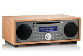 【国内正規品】Tivoli Audio チボリオーディオ Music System BT (タープ/チェリー) MSYBT-1530-JP <Bluetoothワイヤレス CD/AM/FM/クロック ラジオ・ステレオ・スピーカー> 男前インテリア、もようがえ、おしゃれスピーカー スタンドスピーカー