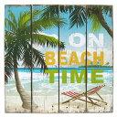 Beachtime woodsign 01