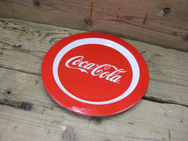 コカコーラ COCA-COLA メラミンプレート(お皿)コカコーラグッズ アウトドア キッチン ブランド ドリンク アメリカ雑貨 コカ・コーラ 西海岸風 インテリア アメリカン雑貨