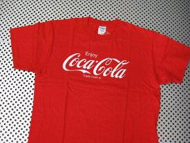 Coca-Cola コカコーラ プリントTシャツ レッド(CC-VT2B2R) ロゴT コカコーラブランド USA アメカジ ブランド ドリンク アメリカ雑貨 コカコーラ 西海岸風 インテリア アメリカン雑貨