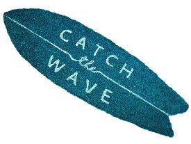 ココナツマット CATCH WAVE サーフボード 2907 カリフォルニア 玄関マット ココマット コイヤマット マット 屋外 エントランスマット カフェマット 西海岸 カッコイー男の部屋 ビーチ アメリカ雑貨 サーフィン 西海岸風 インテリア アメリカン雑貨