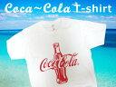 Coca-Cola/コカコーラ プリントTシャツ/ホワイト(CC-VT9-WH) コカコーラブランド USA アメカジ ブランド ドリンク …