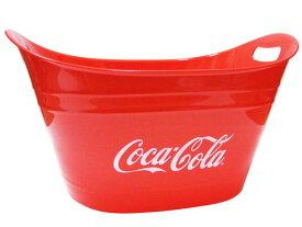 オーバルタブ コカコーラ(COCA-COLA)coca-cola バケツ コカコーラブランド 西海岸風 インテリア アメリカン雑貨