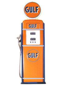 【アメリカン メタルサイン GULF ガスポンプ 82cmST】ブリキ看板 ティンサイン 西海岸風 インテリア アメリカン雑貨