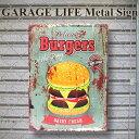 Metalsign burgers 000