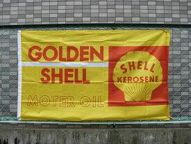フラッグ タペストリー ( シェル SHELL ) 壁掛け バナー 西海岸風 インテリア アメリカン雑貨