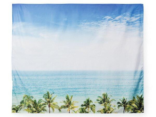 カリフォルニア タペストリー ビーチ 海 150cm 壁掛け 西海岸風 インテリア アメリカン雑貨