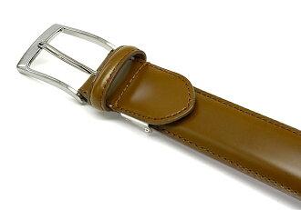 【送料無料】レザーサイズ調整可能職人手作りベルトコードバン革「プレリーギンザ」日本製馬革本革ベルト【楽ギフ_包装選択】