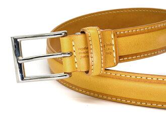 【送料無料】レザーサイズ調整可能職人手作りブッテーロベルト「プレリーギンザ」牛革本革ベルト【楽ギフ_包装選択】