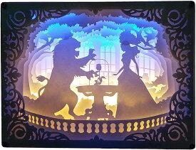ナイトライト 美女と野獣 幻想的なルームライト・デスクライト