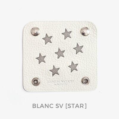 """クロード元町トートバッグ用ハンドルカバー[STAR]""""2枚セット""""Claude本革日本製バッグl汗やハンドクリームからハンドルを保護。"""