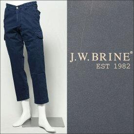 J.W.BRINE / ジェイ ダブリュー ブライン/ TOP KEY コットン クロップド カーゴパンツ 115822-14950 / ネイビー 450【送料無料】 14950-navy 100