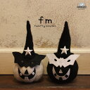 fm ハロウィン パンプキンマン【BN】[ハロウィン パーティーグッズ かぼちゃ パンプキン デコレーション モノトーン 羊毛 ディスプレイ…