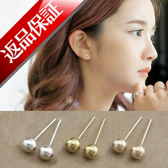 Japan-made earrings ladies 1 pair (2 PCs) Tama / K18 18 k 18 k gold in the second earring yellow gold 18kt pink gold white gold momodia reviews