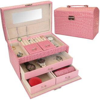 配件存储珠宝盒配件存储盒珠宝存储耳环项链环非 momodia