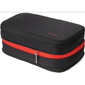 [Mandiva] 便利旅行圧縮バッグ ファスナー圧縮スペース50%節約 衣類収納圧縮バッグ サイズ: 4L mand-sn0011