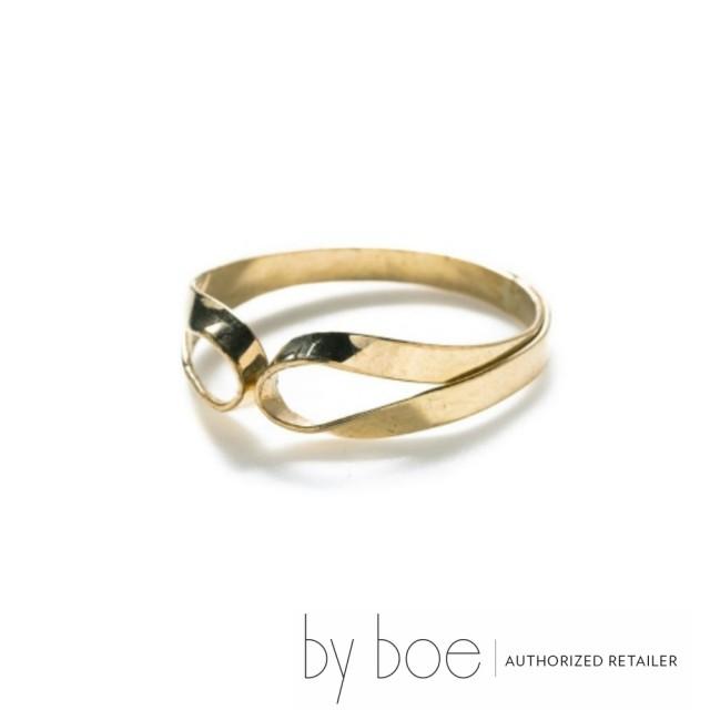 【byboe バイボー】DOUBLE LOOP リング by boe インポート ゴールド レディース 指輪