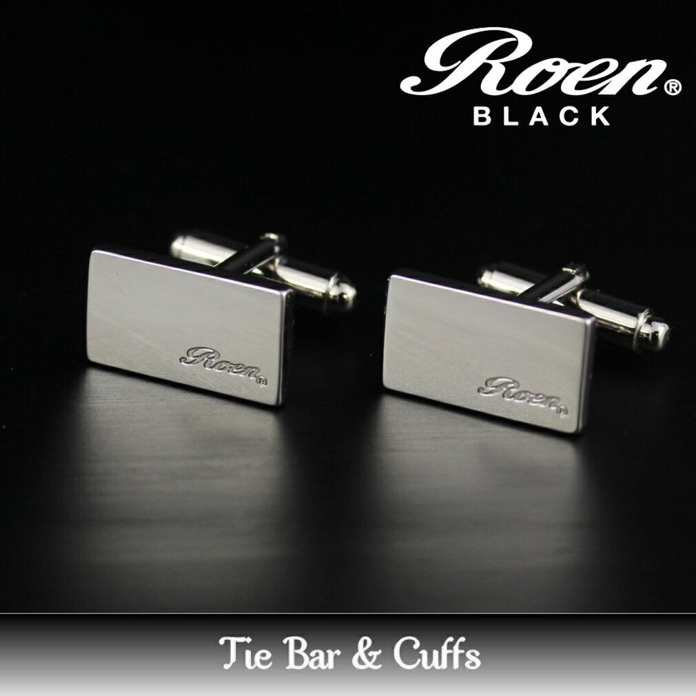 Roen BLACK ロエンブラック アクセサリー カフス 2pcs/1セット シルバーカラー ギフト プレゼント ご褒美 ROT-101 父の日 人気 ギフト
