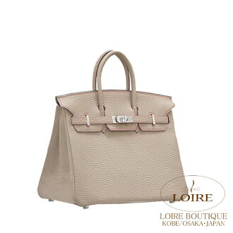 Hermes Birkin 25 cm personal order slope グリトゥールトゥ rail x inside and stitch (ローズショッ King) silver hardware