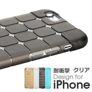 ROCK CUBE キューブ クリア 耐衝撃 ケース iPhone 6/6S/6 Plus/6S Plus iphone6 iPhone 6 Plus 6plus 6s 6sPlusアイフォン6 iPhone6s カバー クリアケースケースカバー 高 耐久性 軽量 軽い 透明カバー 透明 メーカ正規