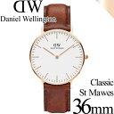 ダニエルウェリントン 腕時計 クラシック 36mm セイント・モーズ ローズゴールド メンズ/レディース Daniel Wellingto…