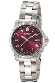 d245779f02 スイスミリタリー 腕時計 ローマン 32mm レディース シルバー/ワインレッド ML397 SWISS MILITARY ROMAN 安心の