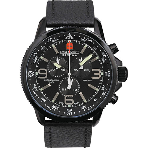 スイスミリタリー 腕時計 アロー メンズ オールブラック SWISS MILITARY ARROW ML400 安心の正規品 代引手数料無料 送料無料 あす楽 即納可能