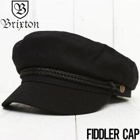 【送料無料】 BRIXTON ブリクストン FIDDLER CAP ハンチング マリンキャップ 10772 BLACK