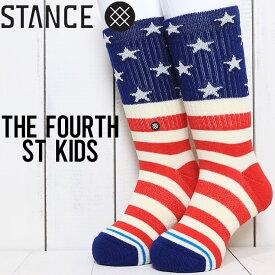 STANCE BOYS スタンス THE FOURTH ST KIDS SOCKS ボーイズソックス 靴下 K526A20FSK