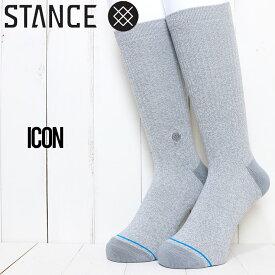 STANCE スタンス ICON SOCKS ソックス 靴下 M311D14ICO GRH
