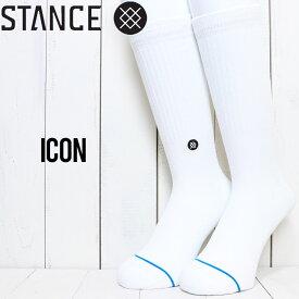 【送料無料】 STANCE スタンス ICON SOCKS ソックス 靴下 M311D14ICO WHB