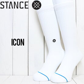 STANCE スタンス ICON SOCKS ソックス 靴下 M311D14ICO WHB