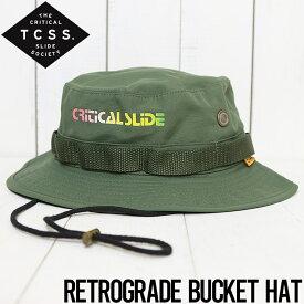 TCSS ティーシーエスエス RETROGRADE BUCKET HAT バケットハット フィッシャーマンハット HW1922