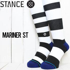 【送料無料】 STANCE スタンス MARINER ST SOCKS ソックス 靴下 A556A20MAS