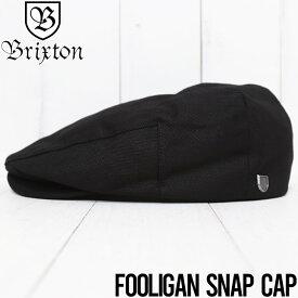 【送料無料】 BRIXTON ブリクストン HOOLIGAN SNAP CAP ハンチング 10771 BLACK