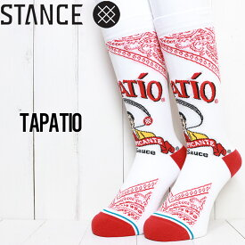 【送料無料】 STANCE スタンス TAPATIO SOCKS ソックス 靴下 A545D20TAP
