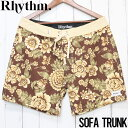 【送料無料】 Rhythm リズム SOFA TRUNK ボードショーツ 0121M-TR61
